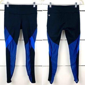 FABLETICS Mesh Colorblock Leggings 7/8 Length